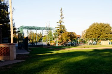 Burton Park Baseball Diamond