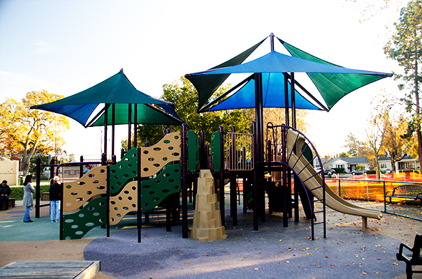 Burton Park Play Structure Lighter