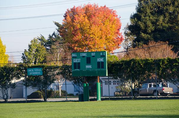Burton Park Scoreboard